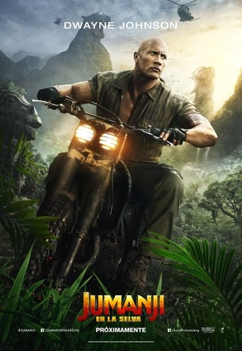 Poster of Jumanji: Bienvenidos a la jungla