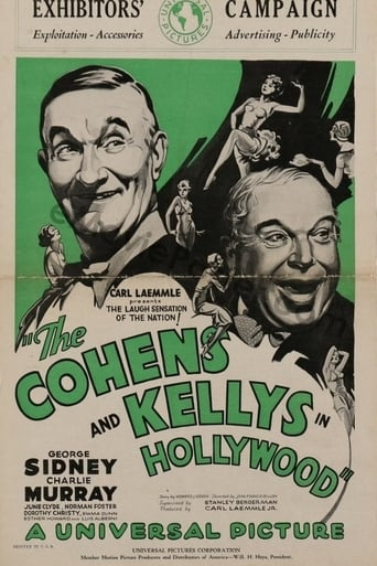 Poster of The Cohens and Kellys in Hollywood