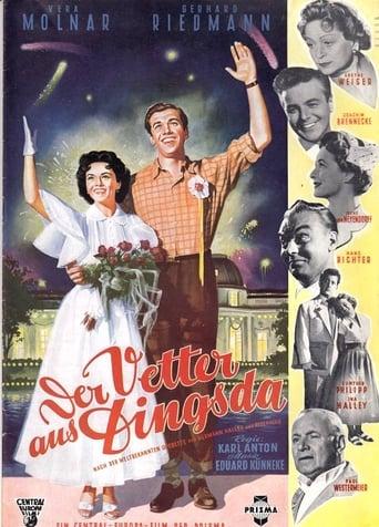 Poster of Der Vetter aus Dingsda