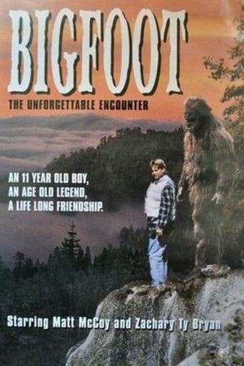 Poster of Bigfoot: The Unforgettable Encounter
