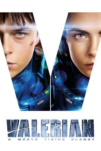 Poster of Valerian a město tisíce planet