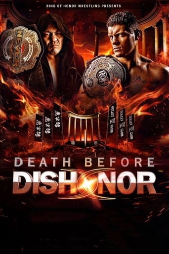 Poster of ROH Death Before Dishonor XV