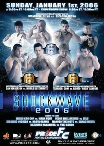 Poster of Pride Shockwave 2005