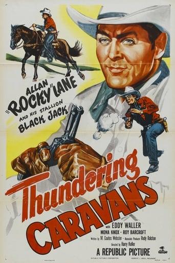 Poster of Thundering Caravans