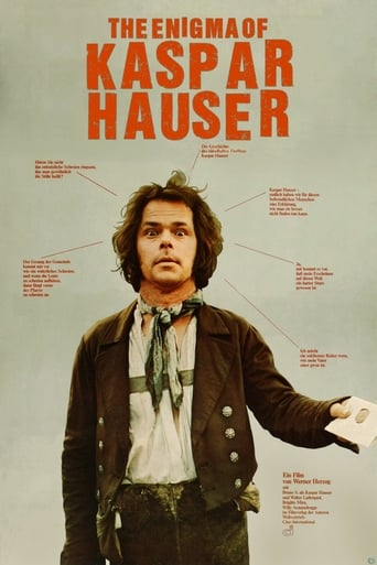 Poster of The Enigma of Kaspar Hauser