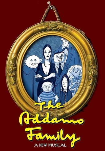 Poster of The Addams Family - A New Musical