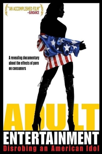 Poster of Adult Entertainment: Disrobing an American Idol