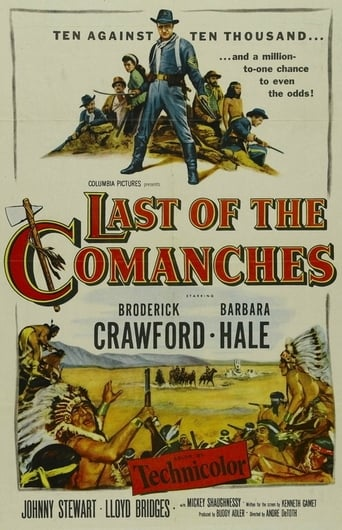 Last of the Comanches poster
