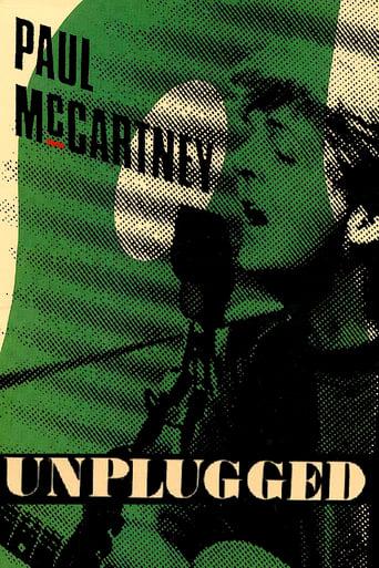 Paul McCartney: Unplugged poster