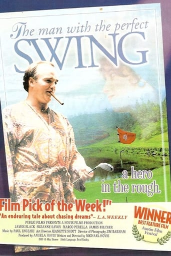 Poster of The Man with the Perfect Swing