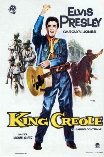 Poster of King Creole, el barrio contra mí