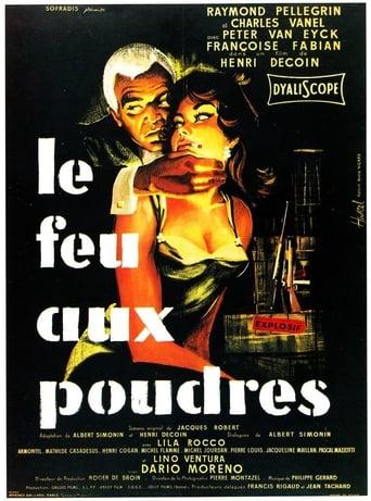 Poster of Le feu aux poudres