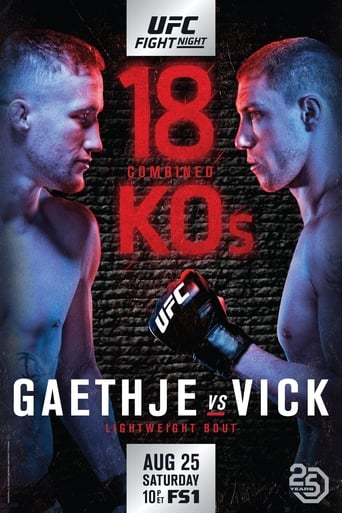 Poster of UFC Fight Night 135: Gaethje vs. Vick
