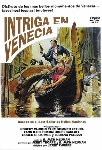 Poster of Intriga en Venecia