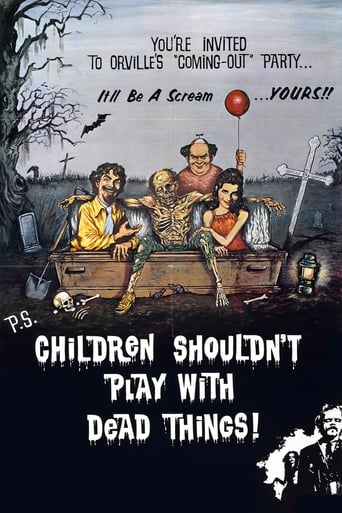 Poster of Children Shouldn't Play with Dead Things