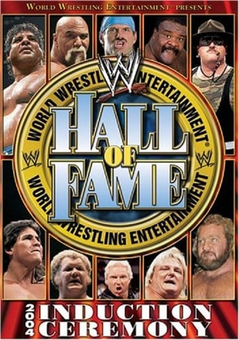 Poster of WWE Hall of Fame 2004