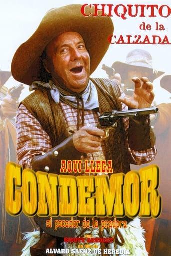 Poster of Aquí llega Condemor, el pecador de la pradera