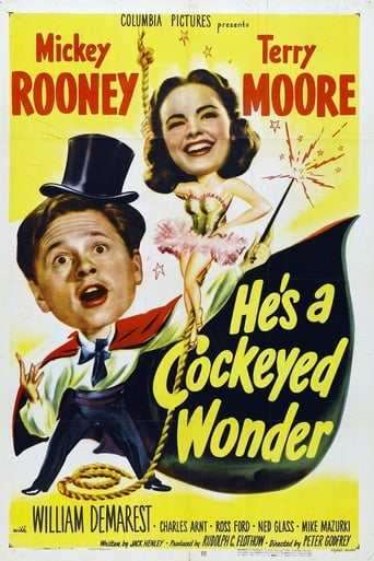 Poster of He's a Cockeyed Wonder