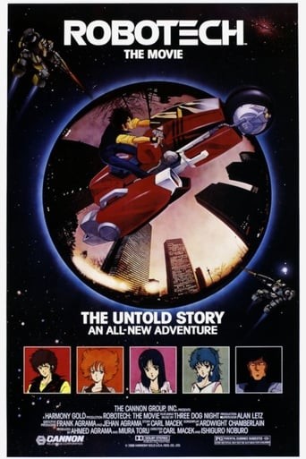 Poster of Robotech: The Movie