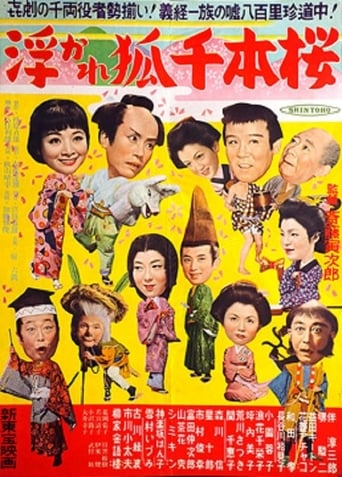 Poster of The Playful Fox and the Thousand Cherry Trees