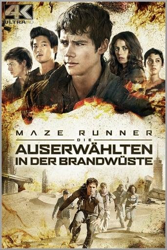 Filmplakat von Maze Runner - Die Auserwählten in der Brandwüste