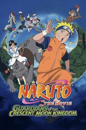 Poster of Naruto the Movie: Guardians of the Crescent Moon Kingdom