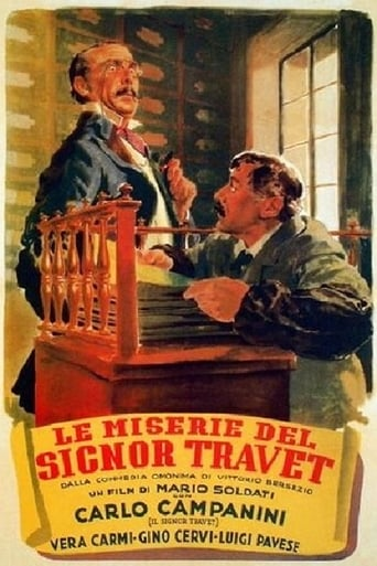 Poster of The Misery of Mr. Travet