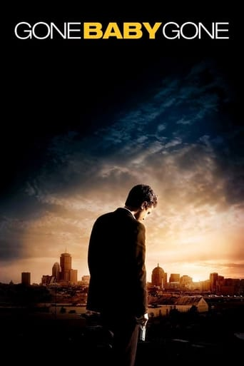 Poster of Gone Baby Gone