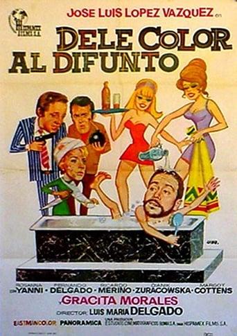 Poster of Dele color al difunto