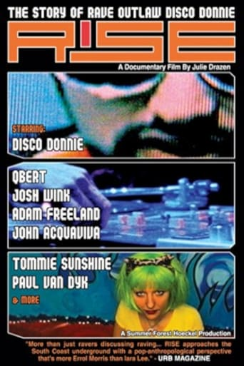 Poster of Rise: The Story of Rave Outlaw Disco Donnie