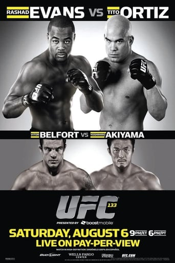 Poster of UFC 133: Evans vs. Ortiz