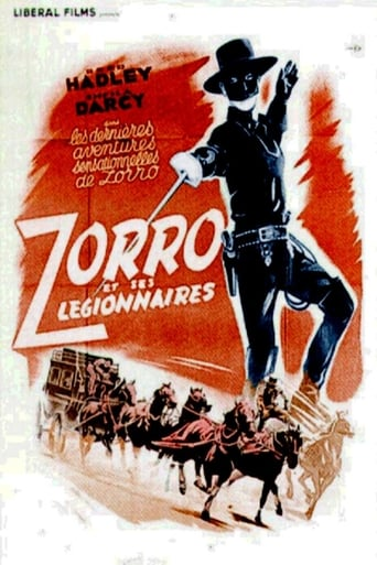 Poster of Zorro's Fighting Legion