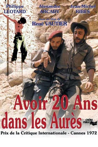 Poster of To Be Twenty in the Aures