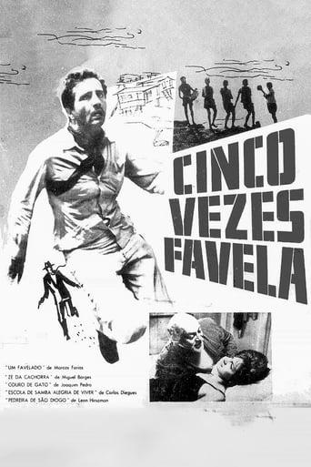 Poster of Cinco Vezes Favela