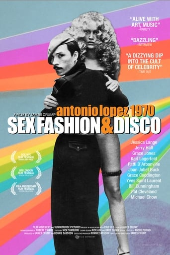 Poster of Antonio Lopez 1970: Sex Fashion & Disco