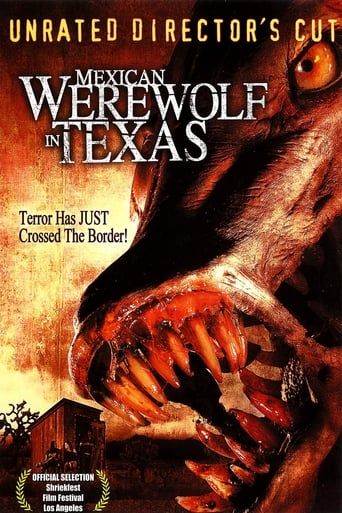 Poster of Mexican Werewolf in Texas