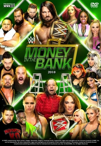 Poster of WWE Money in the Bank 2018