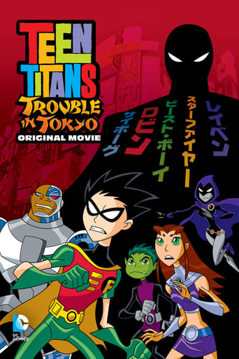 Poster of Teen Titans: Trouble in Tokyo