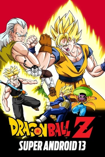 Poster of Dragon Ball Z: Super Android 13!