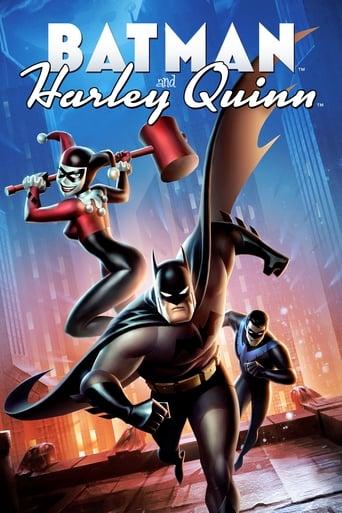 Filmplakat von Batman und Harley Quinn