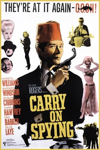 Poster of Carry On Spying