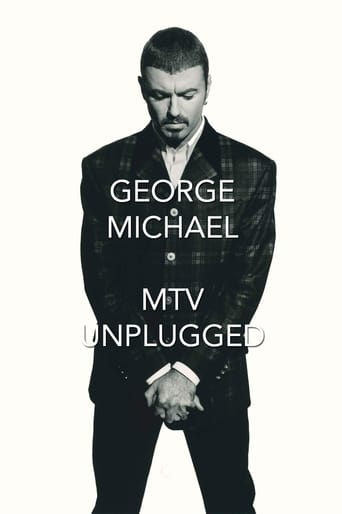 Poster of George Michael - MTV Unplugged