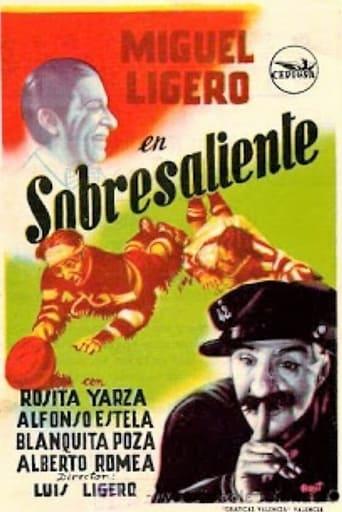 Poster of Sobresaliente