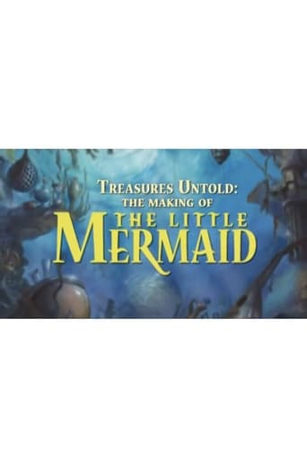 Poster of Treasures Untold: The Making of Disney's 'The Little Mermaid'
