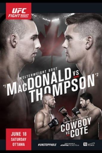 UFC Fight Night 89: MacDonald vs. Thompson