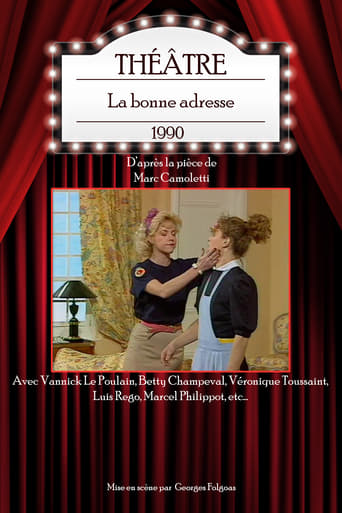 Poster of La bonne adresse