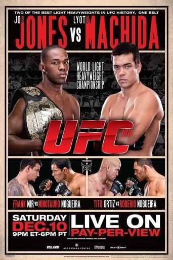 Poster of UFC 140: Jones vs. Machida