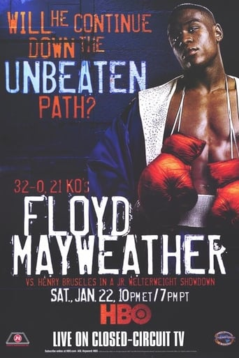 Poster of Floyd Mayweather Jr. vs. Henry Bruseles