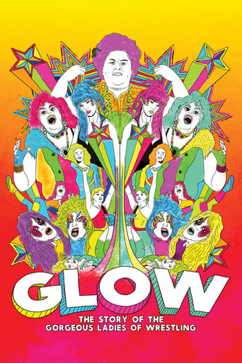 Poster of GLOW: The Story of The Gorgeous Ladies of Wrestling