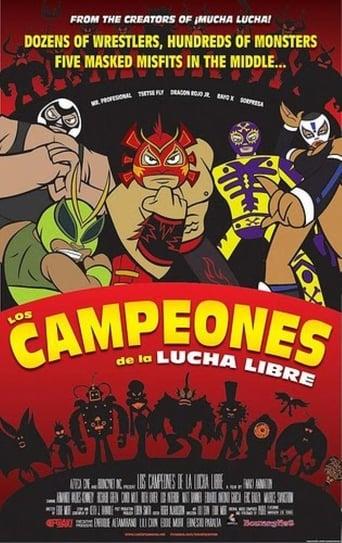 Poster of Los campeones de la lucha libre